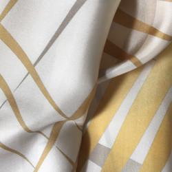 Rays and Waves Silk Foulard