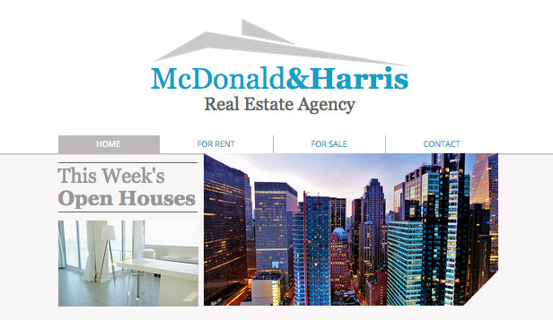 Real Estate Website Templates U2013 Realty Site