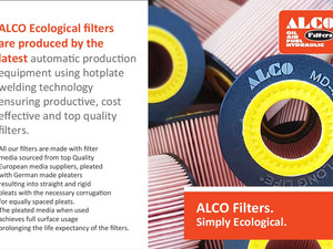 ALCO Filters. SIMPLY Ecological.