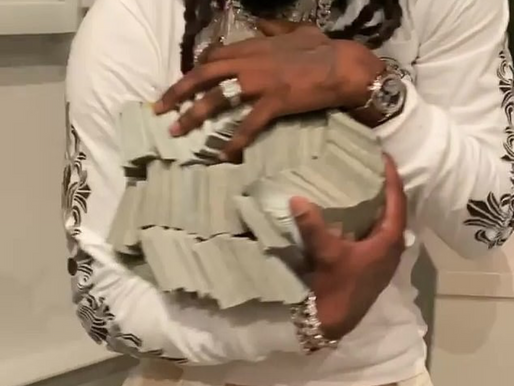 How did Offset get $500,000 CASH...FOR FREE???