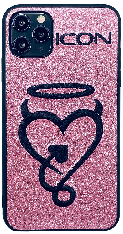 Halo My Heart | Hot Pink + Blk