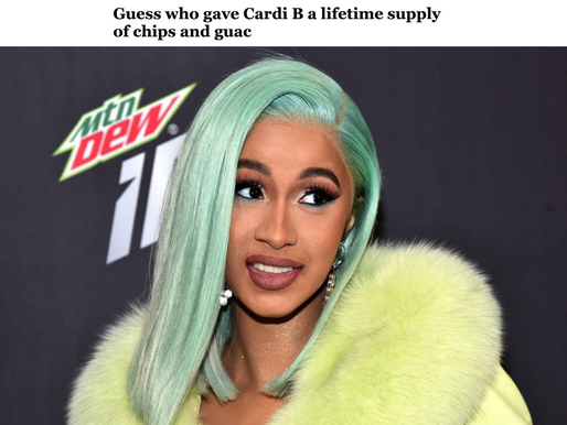 What are Cardi B's Fave Foods?