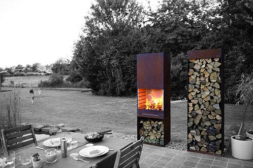 Tole - Feu de jardin & Barbecue K60
