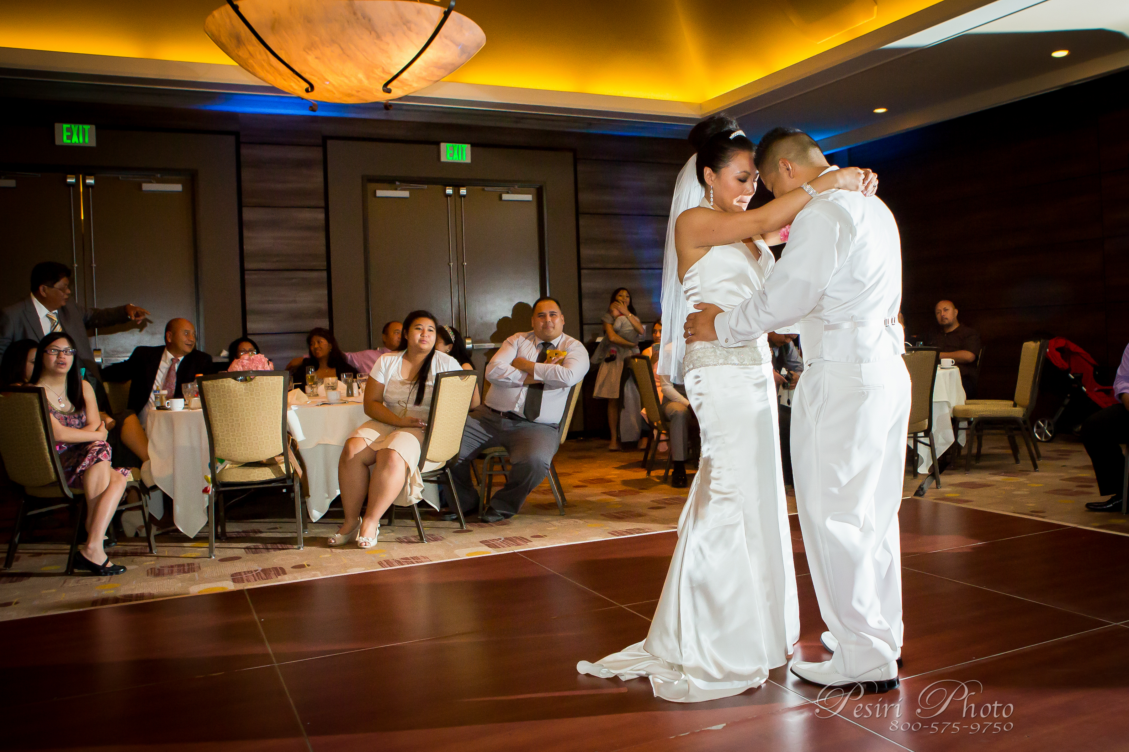 DoubleTree Monrovia wedding By Pesir