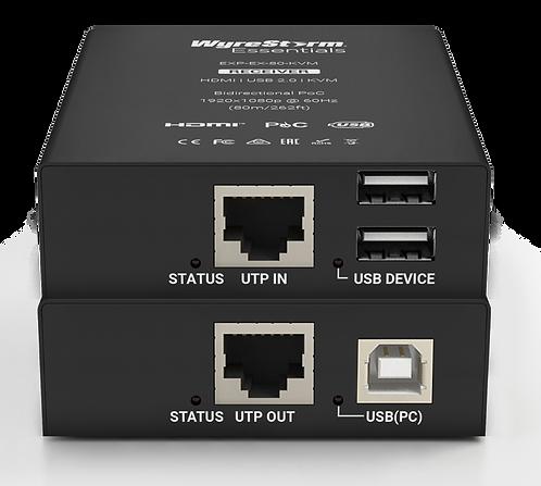 מרחיק HDMI  משולב עם מרחיק USB