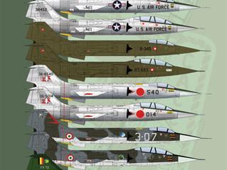 BM-14403 F-104 MICRO STARFIGHTERS