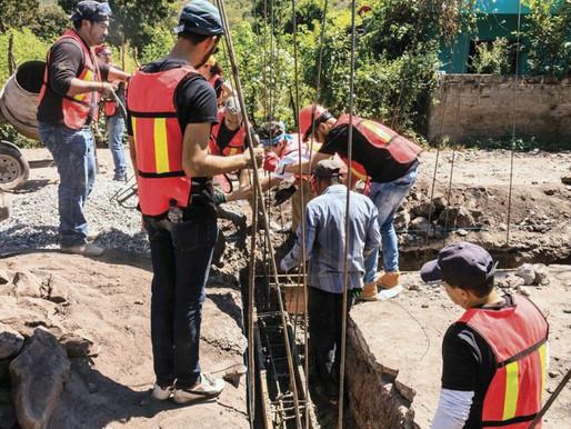 Avanza reconstrucción de 15 casas en San Lucas Colucan