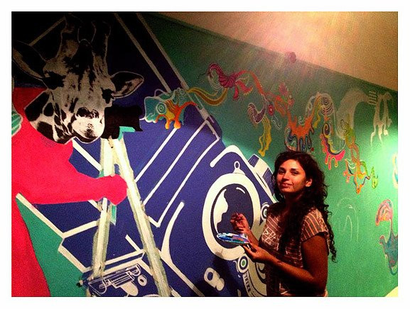 Mural de Yessica Garcia