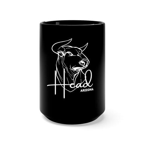 Bullhead City Arizona Black Mug 15oz