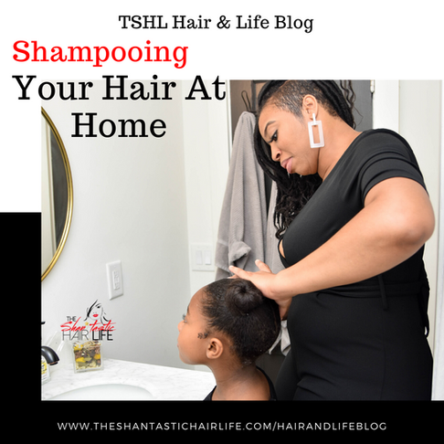 Shampooing Your Hair At Home
