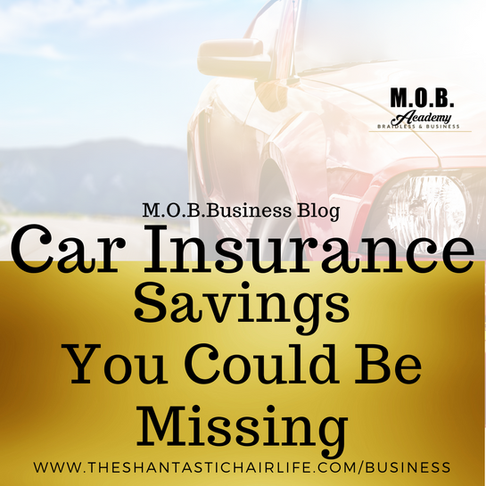 Car Insurance Saving You Could Be Missing