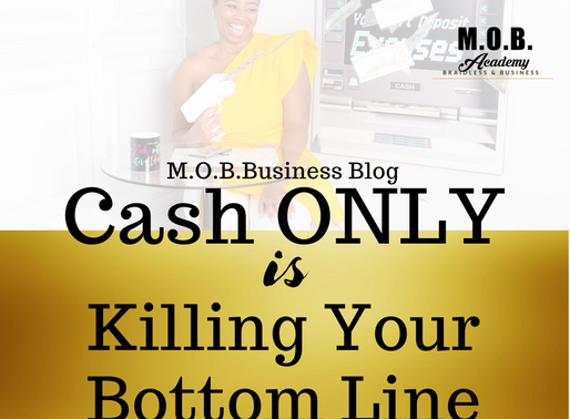 Cash ONLY Is Killing Your Bottom Line