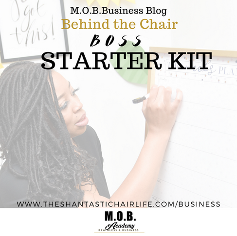 Behind The Chair Business Boss Starter Kit