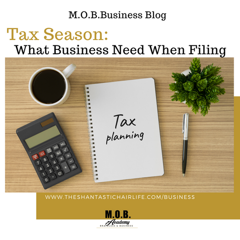 Tax Season: What Business Needs When Filing