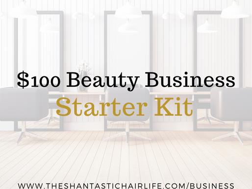 Hundred Dollar Beauty Business Starter Kit