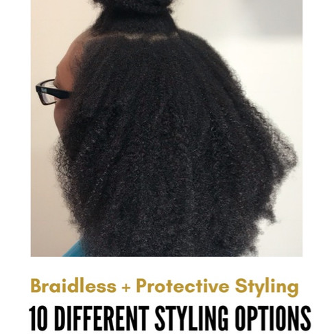 10 Protective Styles for Your Braidless Install
