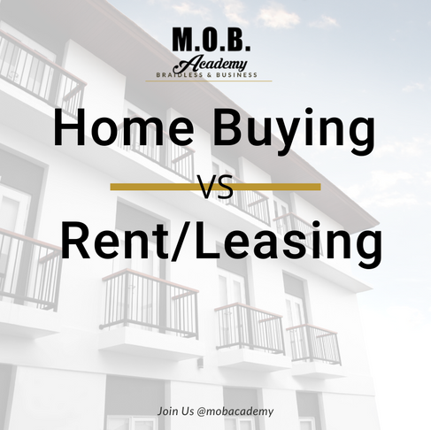 Home Buying Verses Renting