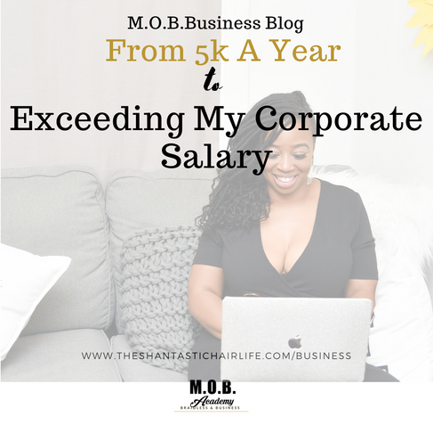 From 5K A Year To Exceeding My Corporate Salary