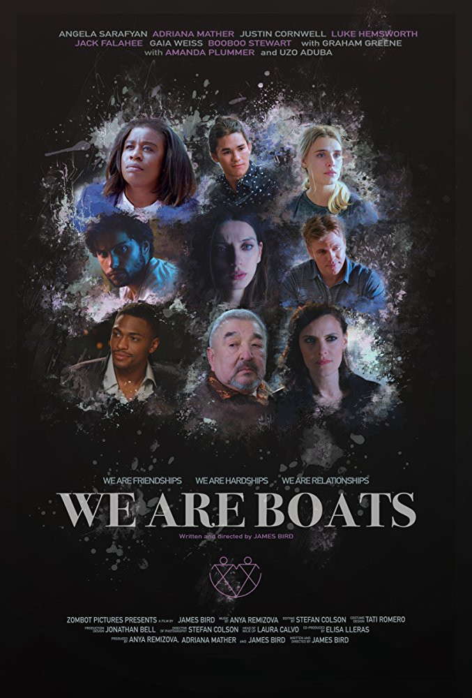 "Justin on cover promo for the film ""We Are Boats"""