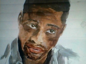 Painting of Justin Cornwell