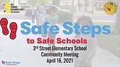 Safe Steps to School Presentation 4.16.P