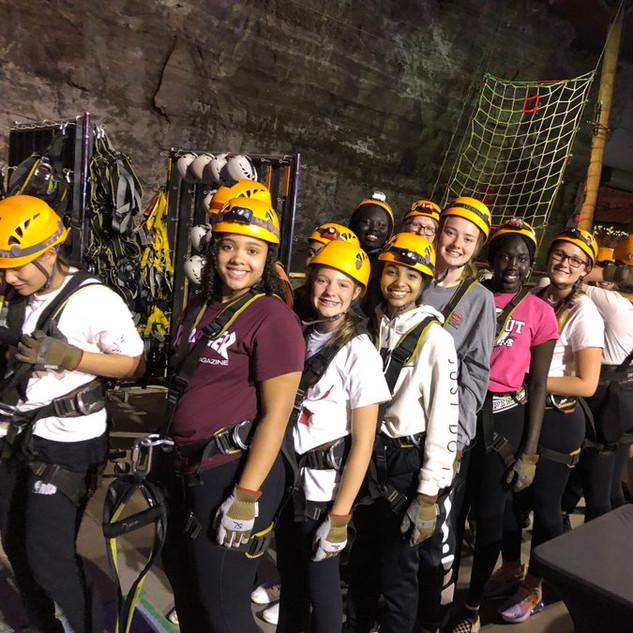 Ziplining in Kentucky