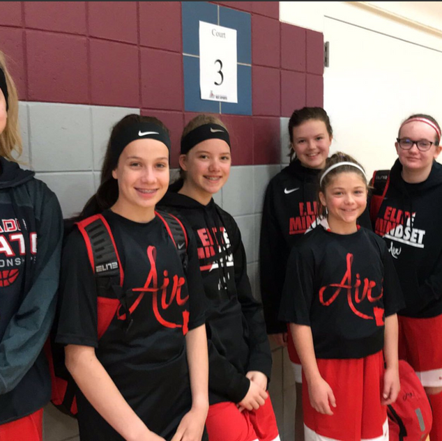 6th Graders: Kloey, Kaia, Laura, Bailey, Charlotte, Avery, Addison