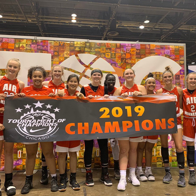 2019 Champions in the Chicago Nike TOC Tournament