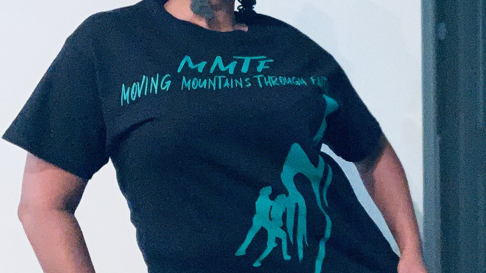 MMTF Black and Green women's t-shirt
