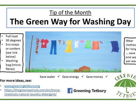 The Green Way for Washing Day