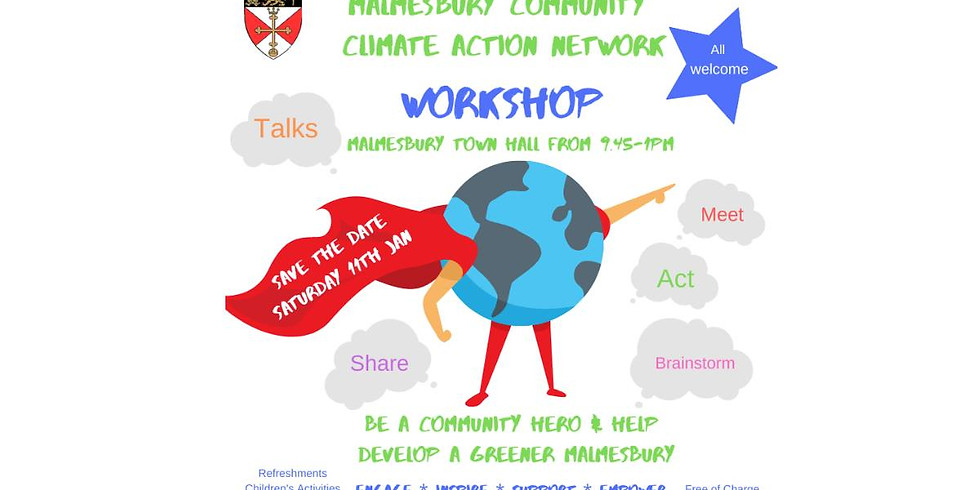 Malmesbury Community Climate Action Network Workshop