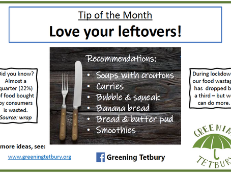 Love your leftovers!