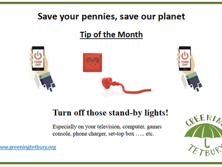 Save your pennies, save the planet.