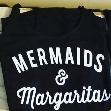 Mermaids & Margaritas Racerback tank top