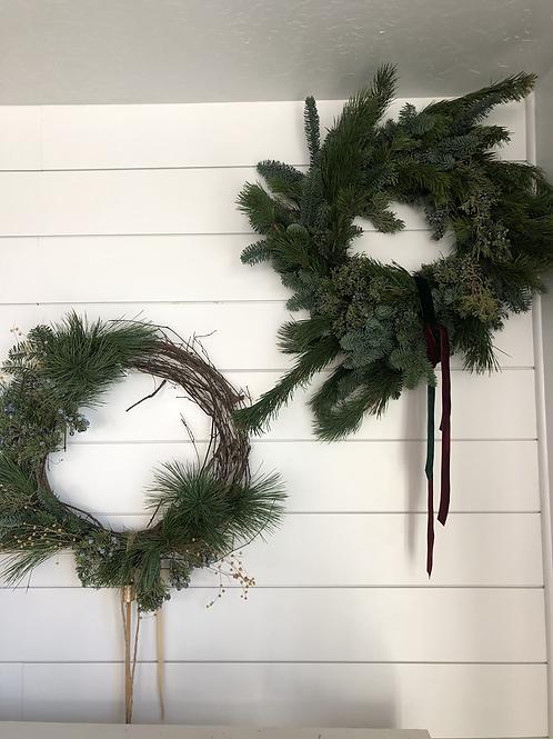 Full Holiday Wreath