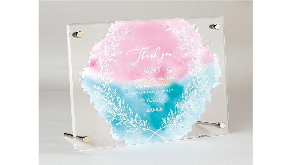 Thankful Gift Box BluePink (サンクフルギフトボックスブルーピンク)