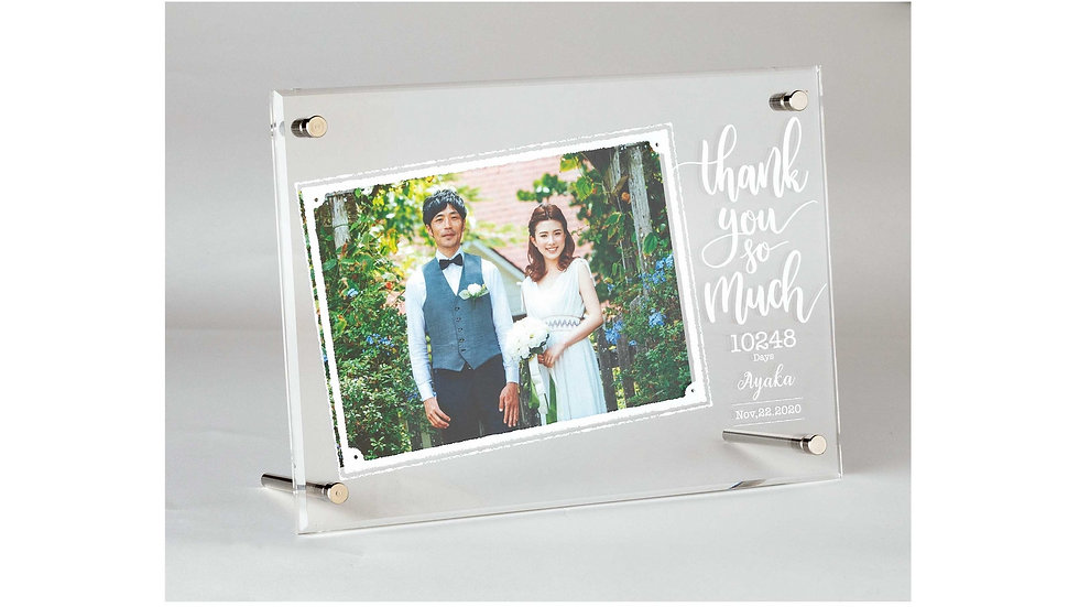 Thankful Gift Box Photoframe (サンクフルギフトボックスフォトフレーム)