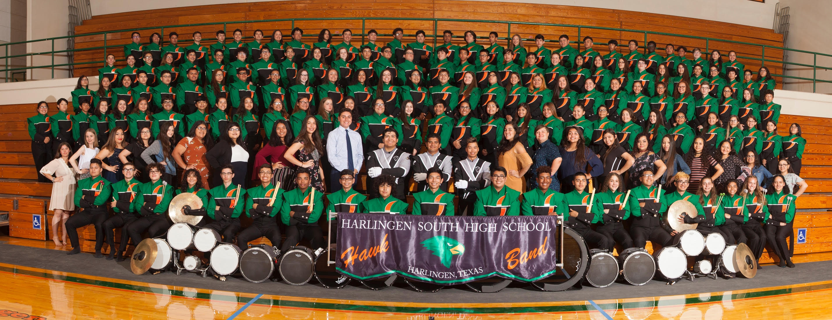 Mighty Hawk Marching Band