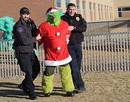 With Students' Help, Police Stop the Grinch from Stealing Christmas
