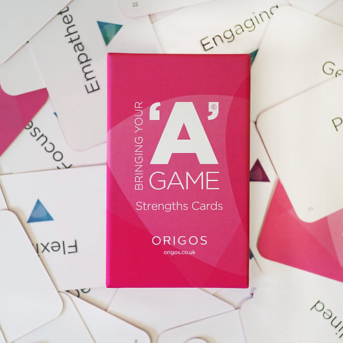 Bringing your 'A' Game - Strengths card deck