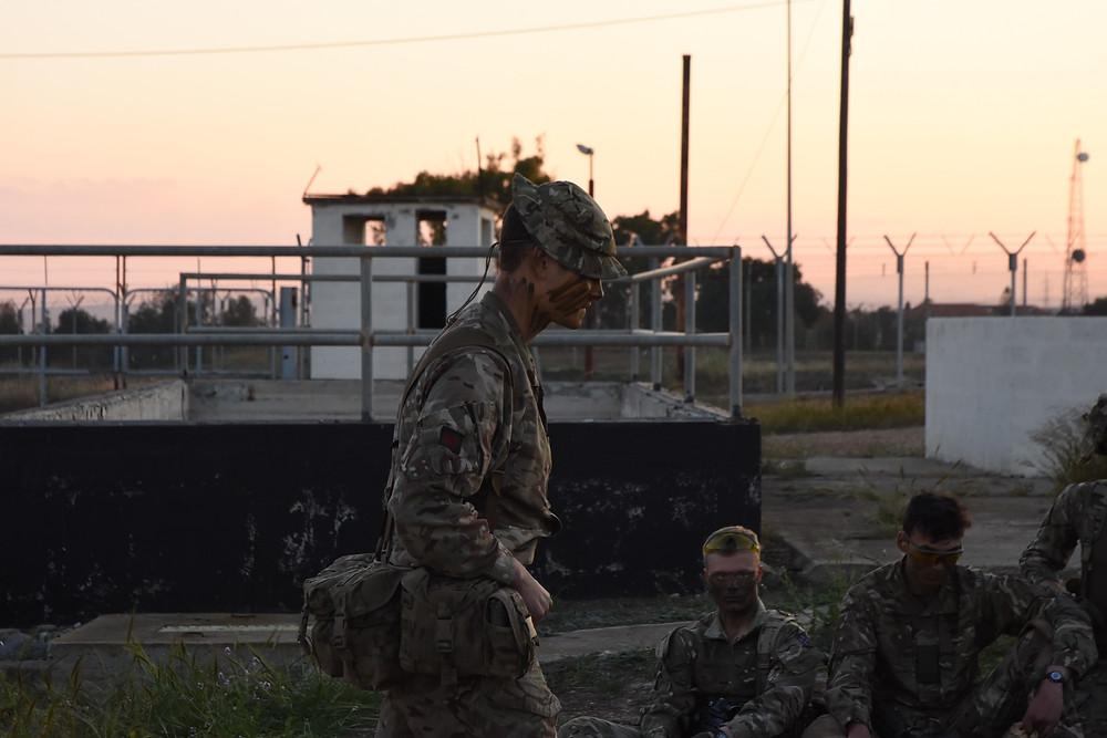 Lt Probert, Night Time Skills Talk Through.