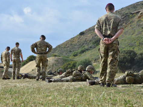 Wales University Officers' Training Corps:  Ex LION STAR