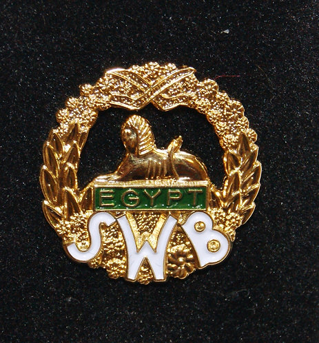 South Wales Borderers Lapel Pin Badge