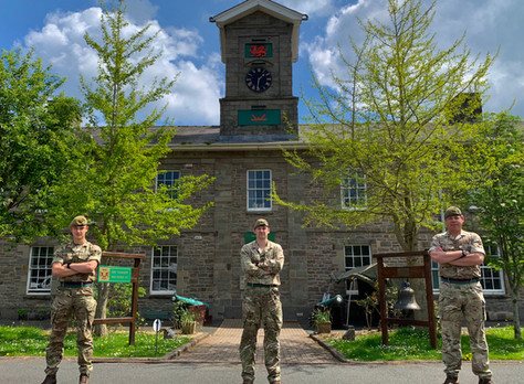 My experience as AMA to Commander Joint Military Command Wales (160X) –  Op RESCRIPT