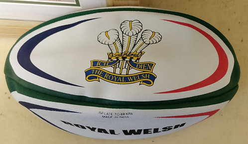 Royal Welsh Rugby Ball