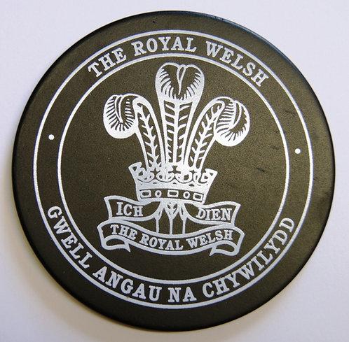 Royal Welsh Black Drinks Coaster
