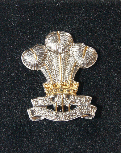 Royal Welsh Lapel Pin Badge (Cap Badge)