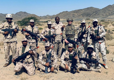 1 R WELSH support to the British Military Mission to the Saudi Arabian National Guard
