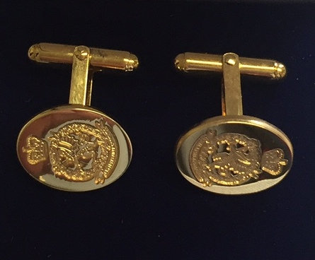 Royal Welsh Cuff Links (Crest)