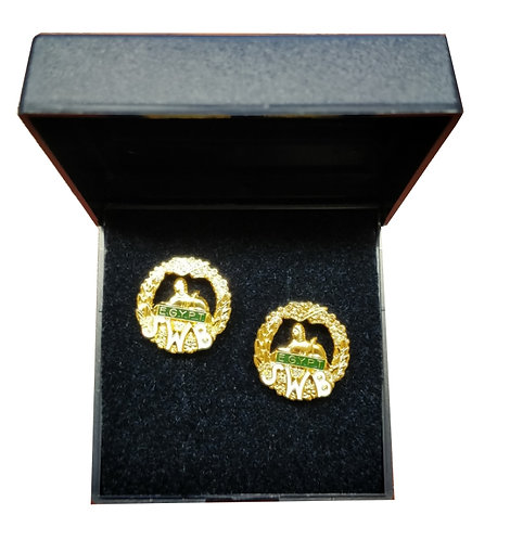 South Wales Borderers Cuff Links
